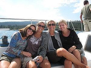 Sisters, circa 2007.