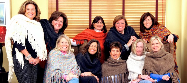 """""""Experienced knitters love to make Cozmeena Shawls™ because of the simplicity and purpose. They know that working with your hands is calming, soothing and relaxing. Knitting a Cozmeena Shawl™ simply makes you feel better."""" Credit: Cozmeena.com"""