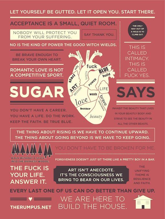 Sugar Says so many great things.