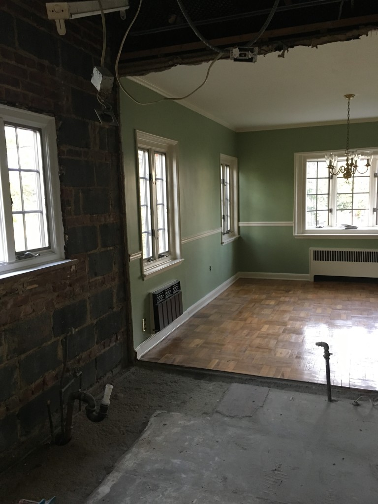 The kitchen will now benefit for the two casement windows in the dining room and the deep bay window as a focal point.